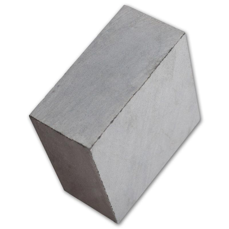 Đá cubic xanh đen cắt thô