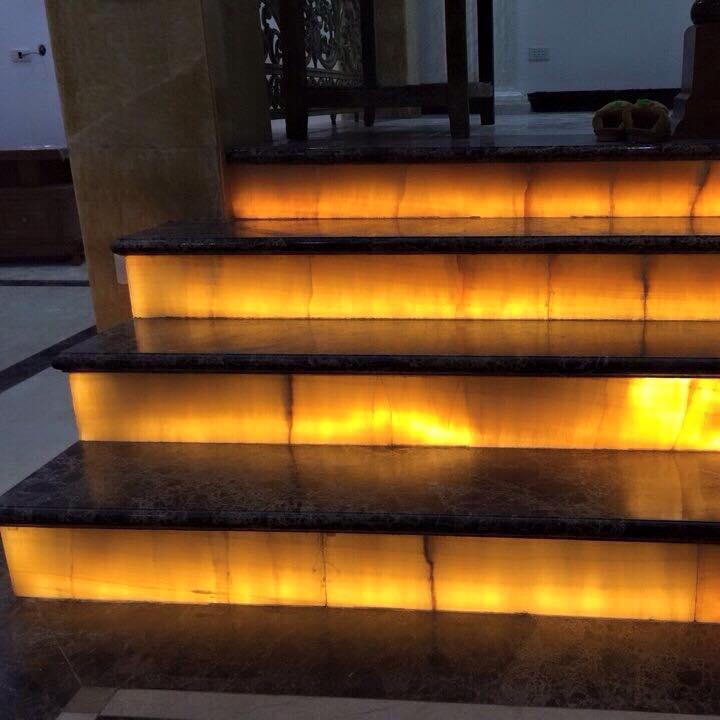 Lý do chọn đá tự nhiên cho ứng dụng cầu thang trong nội thất